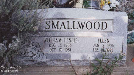 SMALLWOOD, WILLIAM LESLIE - Lake County, Colorado | WILLIAM LESLIE SMALLWOOD - Colorado Gravestone Photos