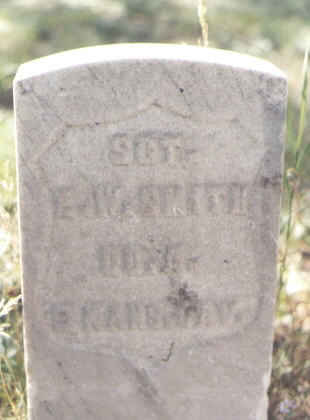 SMITH, E. W. - Lake County, Colorado | E. W. SMITH - Colorado Gravestone Photos
