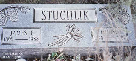 STUCHLIK, JAMES F. - Lake County, Colorado | JAMES F. STUCHLIK - Colorado Gravestone Photos