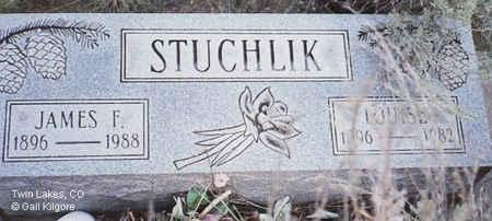 STUCHLIK, LOUISE - Lake County, Colorado | LOUISE STUCHLIK - Colorado Gravestone Photos