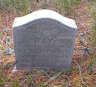 SWANK, RAY - Lake County, Colorado | RAY SWANK - Colorado Gravestone Photos