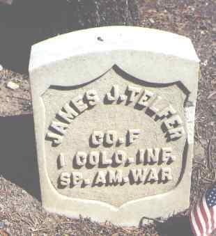 TELFER, JAMES J. - Lake County, Colorado | JAMES J. TELFER - Colorado Gravestone Photos