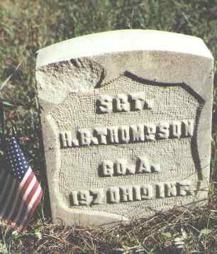 THOMPSON, H. B. - Lake County, Colorado | H. B. THOMPSON - Colorado Gravestone Photos