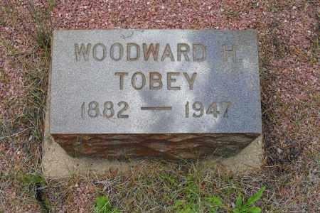 TOBEY, WOODWARD H. - Lake County, Colorado | WOODWARD H. TOBEY - Colorado Gravestone Photos