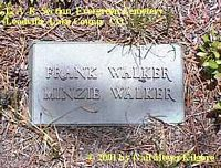 WALKER, MINZIE - Lake County, Colorado | MINZIE WALKER - Colorado Gravestone Photos