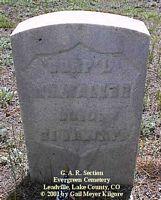 WALKER, WILLIAM - Lake County, Colorado | WILLIAM WALKER - Colorado Gravestone Photos