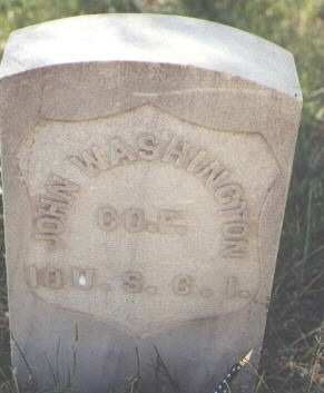 WASHINGTON, JOHN - Lake County, Colorado | JOHN WASHINGTON - Colorado Gravestone Photos