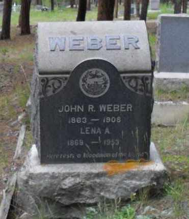 WEBER, LENA A - Lake County, Colorado | LENA A WEBER - Colorado Gravestone Photos