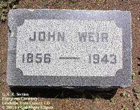 WEIR, JOHN - Lake County, Colorado | JOHN WEIR - Colorado Gravestone Photos