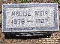 WEIR, NELLIE - Lake County, Colorado | NELLIE WEIR - Colorado Gravestone Photos