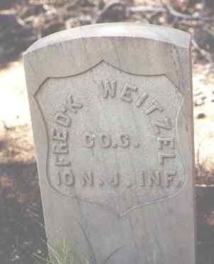 WEITZEL, FRED'K - Lake County, Colorado | FRED'K WEITZEL - Colorado Gravestone Photos