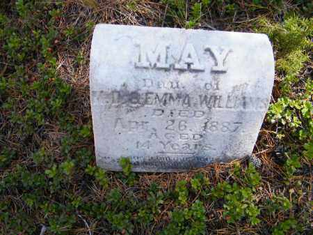 WILLIAMS, MAY - Lake County, Colorado | MAY WILLIAMS - Colorado Gravestone Photos