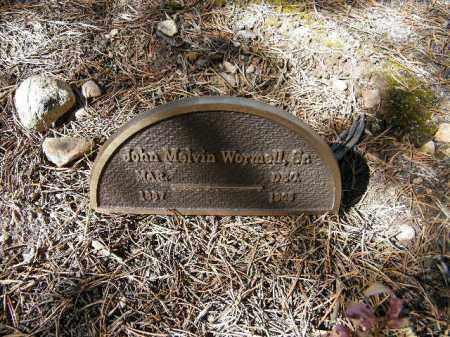 WORMELL, JOHN MELVIN, SR. - Lake County, Colorado | JOHN MELVIN, SR. WORMELL - Colorado Gravestone Photos