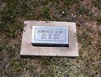 ALBO, DOMINICK - La Plata County, Colorado   DOMINICK ALBO - Colorado Gravestone Photos