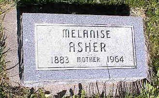 ASHER, MELANISE - La Plata County, Colorado | MELANISE ASHER - Colorado Gravestone Photos