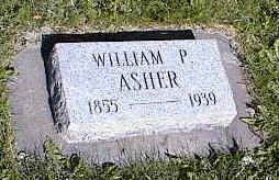 ASHER, WILLIAM P. - La Plata County, Colorado   WILLIAM P. ASHER - Colorado Gravestone Photos