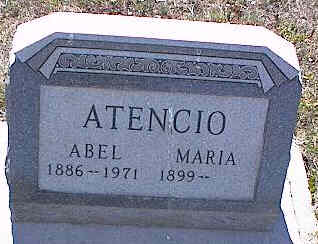 ATENCIO, MARIA - La Plata County, Colorado | MARIA ATENCIO - Colorado Gravestone Photos