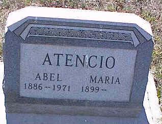 ATENCIO, ABEL - La Plata County, Colorado   ABEL ATENCIO - Colorado Gravestone Photos
