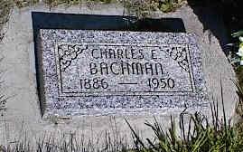 BACHMAN, CHARLES E. - La Plata County, Colorado   CHARLES E. BACHMAN - Colorado Gravestone Photos