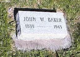 BAKER, JOHN W. - La Plata County, Colorado | JOHN W. BAKER - Colorado Gravestone Photos