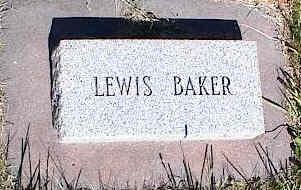 BAKER, LEWIS - La Plata County, Colorado | LEWIS BAKER - Colorado Gravestone Photos