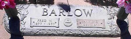BARLOW, FRED W. - La Plata County, Colorado | FRED W. BARLOW - Colorado Gravestone Photos