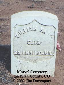 BARR, WILLIAM - La Plata County, Colorado | WILLIAM BARR - Colorado Gravestone Photos
