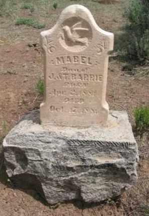 BARRIE, MABEL - La Plata County, Colorado | MABEL BARRIE - Colorado Gravestone Photos