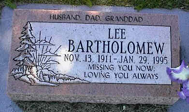 BARTHOLOMEW, LEE - La Plata County, Colorado | LEE BARTHOLOMEW - Colorado Gravestone Photos