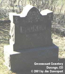 BECKER, WILLIAM C. - La Plata County, Colorado   WILLIAM C. BECKER - Colorado Gravestone Photos