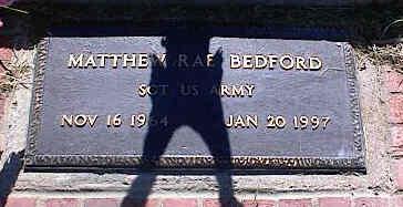 BEDFORD, MATTHEW RAE - La Plata County, Colorado | MATTHEW RAE BEDFORD - Colorado Gravestone Photos
