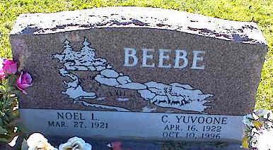 BEEBE, NOEL L. - La Plata County, Colorado | NOEL L. BEEBE - Colorado Gravestone Photos