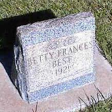 BEST, BETTY FRANCES - La Plata County, Colorado   BETTY FRANCES BEST - Colorado Gravestone Photos