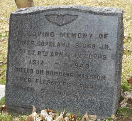 BIGGS, JR., HOMER COPELAND - La Plata County, Colorado | HOMER COPELAND BIGGS, JR. - Colorado Gravestone Photos