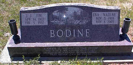 BODINE, J. J. - La Plata County, Colorado | J. J. BODINE - Colorado Gravestone Photos
