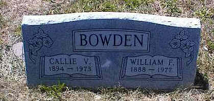 BOWDEN, WILLIAM F. - La Plata County, Colorado | WILLIAM F. BOWDEN - Colorado Gravestone Photos