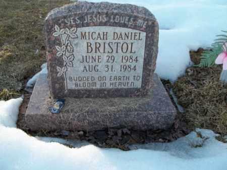 BRISTOL, MICAH DANIEL - La Plata County, Colorado   MICAH DANIEL BRISTOL - Colorado Gravestone Photos