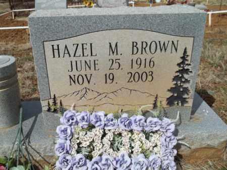 SPINNING BROWN, HAZEL M. - La Plata County, Colorado | HAZEL M. SPINNING BROWN - Colorado Gravestone Photos