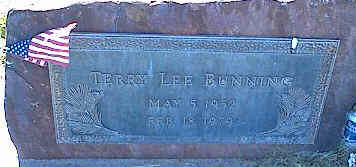 BUNNING, TERRY LEE - La Plata County, Colorado | TERRY LEE BUNNING - Colorado Gravestone Photos