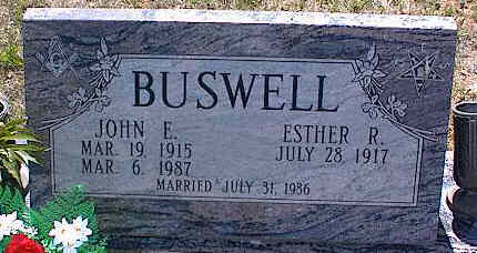 BUSWELL, ESTHER R. - La Plata County, Colorado | ESTHER R. BUSWELL - Colorado Gravestone Photos