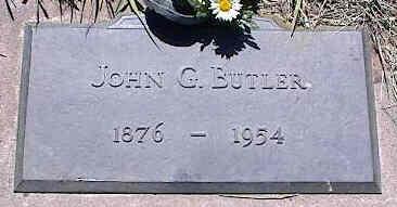 BUTLER, JOHN G. - La Plata County, Colorado   JOHN G. BUTLER - Colorado Gravestone Photos