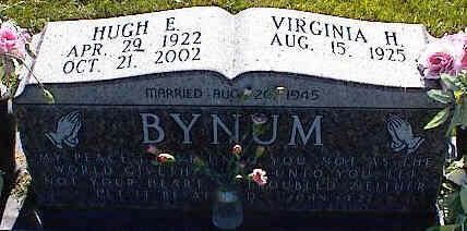 BYNUM, VIRGINIA H. - La Plata County, Colorado | VIRGINIA H. BYNUM - Colorado Gravestone Photos