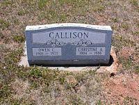CALLISON, OWEN C. - La Plata County, Colorado | OWEN C. CALLISON - Colorado Gravestone Photos