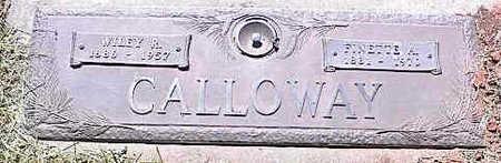CALLOWAY, FINETTE A. - La Plata County, Colorado | FINETTE A. CALLOWAY - Colorado Gravestone Photos