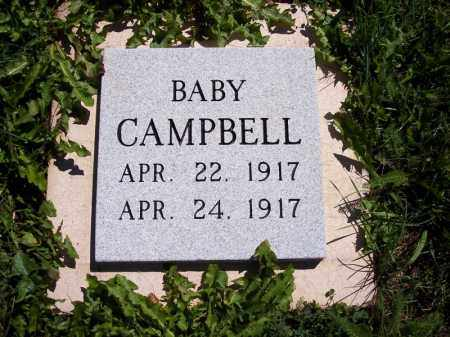 CAMPBELL, BABY - La Plata County, Colorado | BABY CAMPBELL - Colorado Gravestone Photos