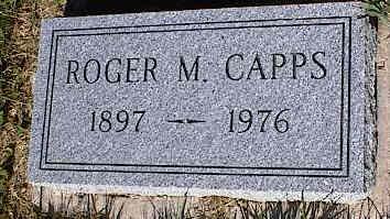 CAPPS, ROGER M. - La Plata County, Colorado | ROGER M. CAPPS - Colorado Gravestone Photos