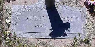 CARDON, ANNIE S. - La Plata County, Colorado | ANNIE S. CARDON - Colorado Gravestone Photos