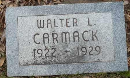 CARMACK, WALTER L. - La Plata County, Colorado | WALTER L. CARMACK - Colorado Gravestone Photos