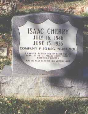 CHERRY, ISAAC - La Plata County, Colorado   ISAAC CHERRY - Colorado Gravestone Photos