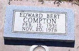 COMPTON, EDWARD BERT - La Plata County, Colorado | EDWARD BERT COMPTON - Colorado Gravestone Photos
